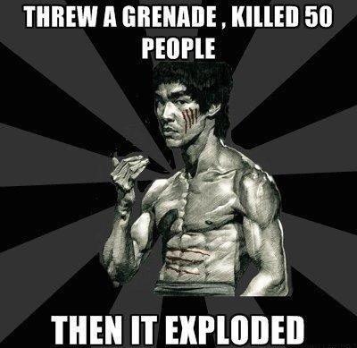 Bruce Lee. Bruce Lee or Chuck Norris?. PEOE' THEN IT Glial', Bruce Lee or Chuck Norris? PEOE' THEN IT Glial'
