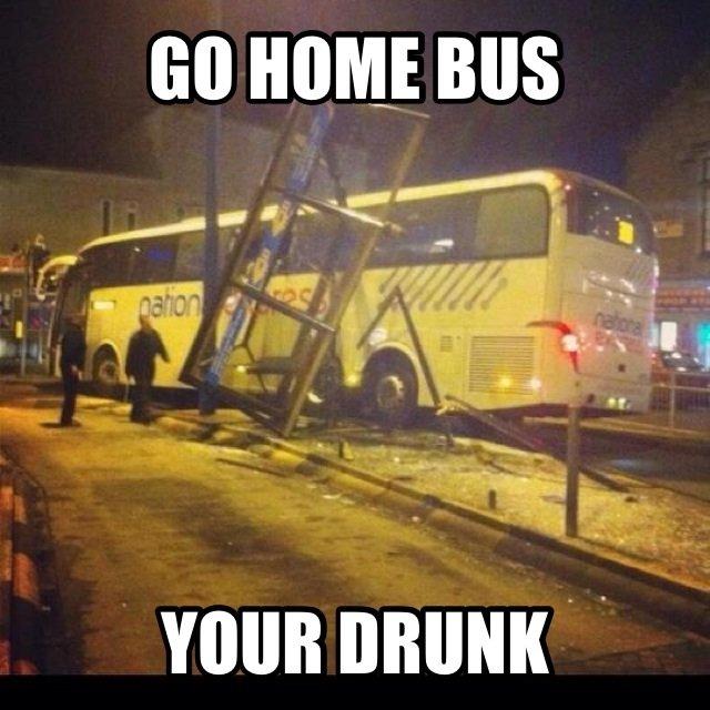 Bus. .. You're Red-Thumbed Bus You're Red-Thumbed