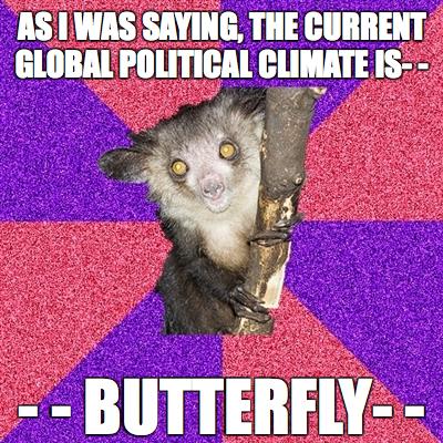 Butterfly. lolwut. Butterfly lolwut
