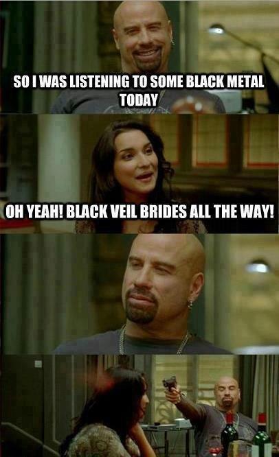 BVB. Not mine... Did someone say black metal? BVB Not mine Did someone say black metal?
