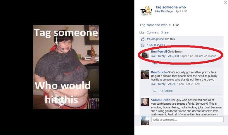 "Facebook (69). . Tag someone Tag someoene who TAG ' Like This F' age Mildly -4 Mi press it en Tag sameone whiz: "" Like Lila: e III: -brillient Eia' iare lall i. as seen on facebook"
