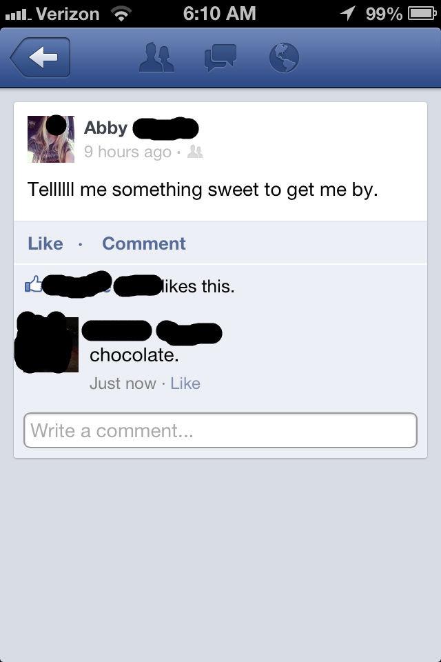 Facebook replies.. . Facebook replies