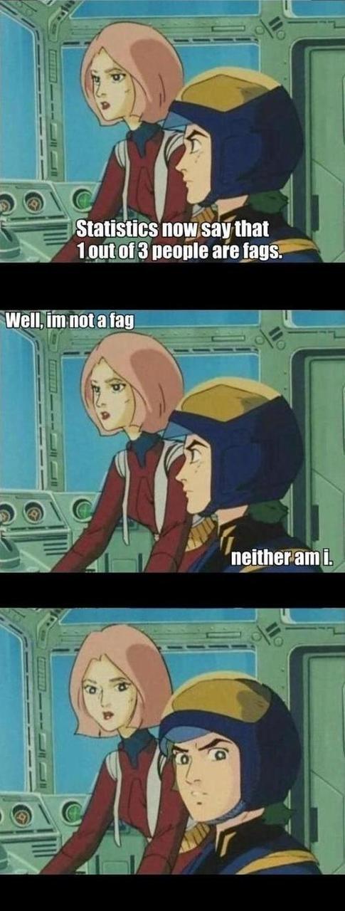 Fag?. YOU ARE ONE. 1395. q Essa Ir! 6 are ii) we N Fl it. See but I am gay, so it kinda ruins the joke. whos a little fa