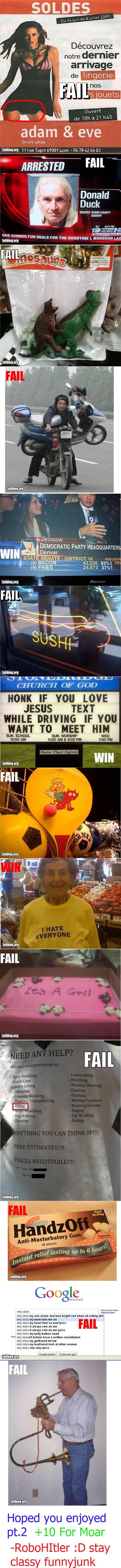 "Fail Comp. Pt. 2. fail comp pt 2<br /> pt1 /funny_pictures/589565/Fail+Comp+Pt+1/. u M gum in 819"" notre dealer adam & eve beats uhsa 11 we Tapin 67001 Ly fail blog comp funny"