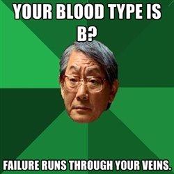 """fail. . VIII""""! BLIND TYPE IS 951, MINE Tool, WINE. ohh Asians"""