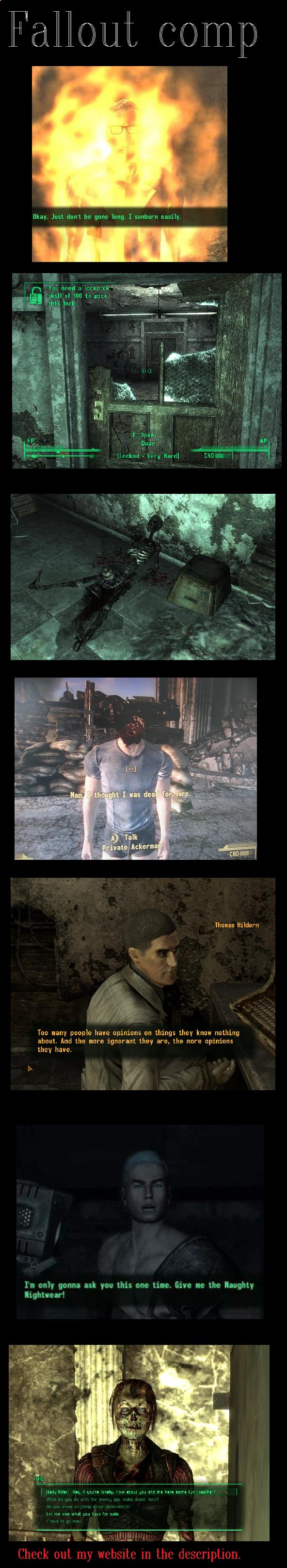 Fallout comp 1. incredibleoddities.com. Fallout comp 1 incredibleoddities com