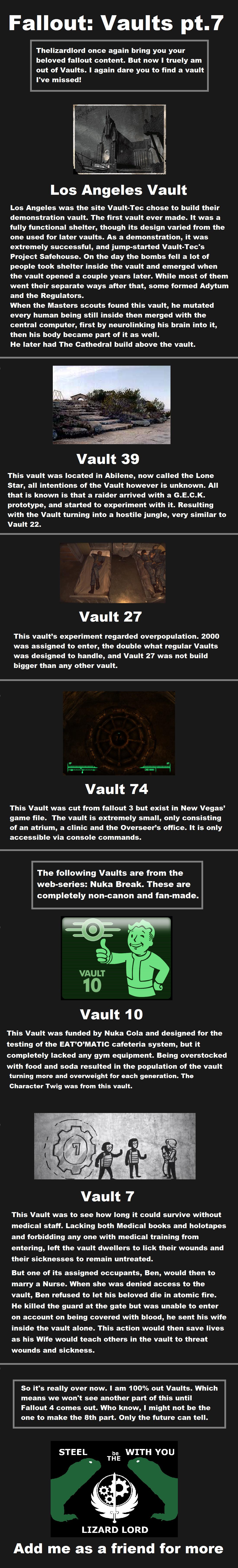 Fallout: Vaults pt7. Part one: /Fallout+Vaults/funny-pictures/4957769/ Part two: /Fallout+Vaults+Pt.2/funny-pictures/4... Part three: /channel/fallout/Fallout+V Fallout The Master Super mutants raider nuka break nuka cola