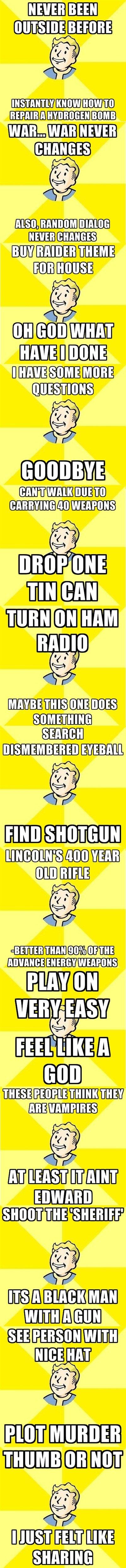 Fallout Comp. Oh no, it's Randal Rapist Mcgee!. Ifirst]. FALLOUT! Fallout Comp Oh no it's Randal Rapist Mcgee! Ifirst] FALLOUT!