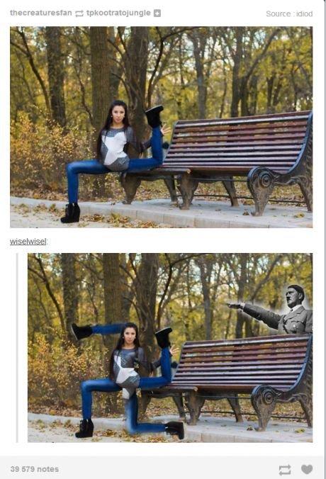 fallow your dreams. . Hitler weird legs nice funny ohohhoh