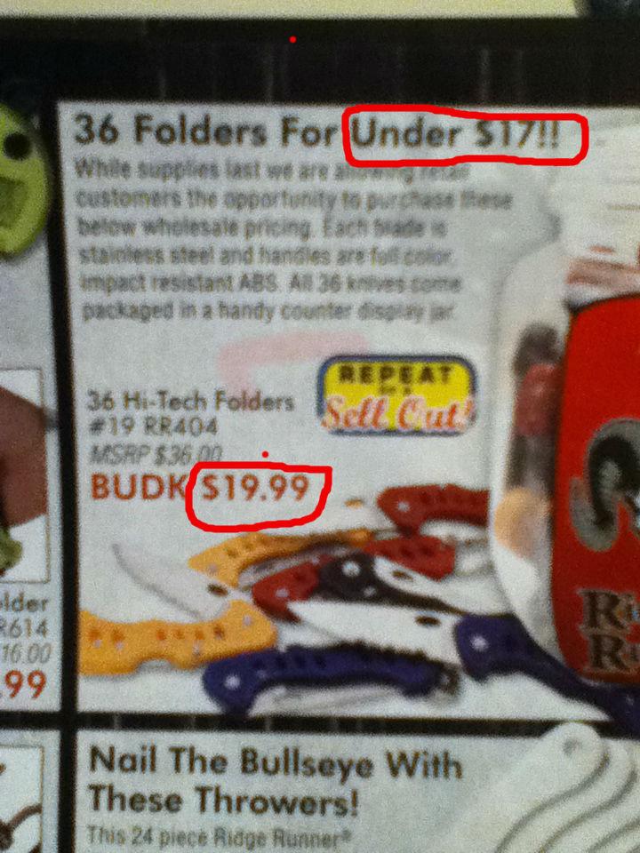 False Advertising.. You had one job, BUDK... BudK is best website. False Advertising You had one job BUDK BudK is best website