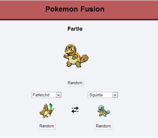 Fartle. . Fame Rand om Rand om Rand om Pokemon Fusion