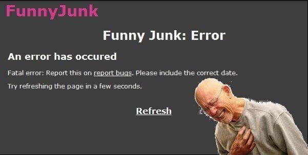 Fatal error. thanks to /user/zXReLiCXz for fatal error image. You are it Fatal error heart attack