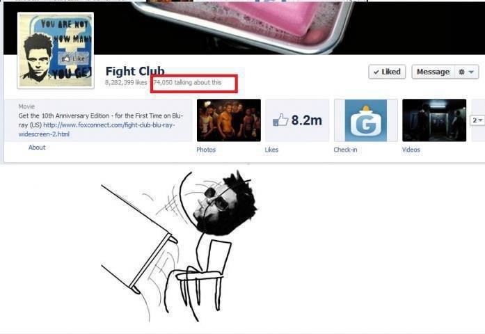 "Fight club rules.... Good Guy Brad. Rightall flied Message iv 33. 199 in ""Y Mn. uis endeth: LIES Checkem Ainut photos Idears. great movie Fight club is Strange"