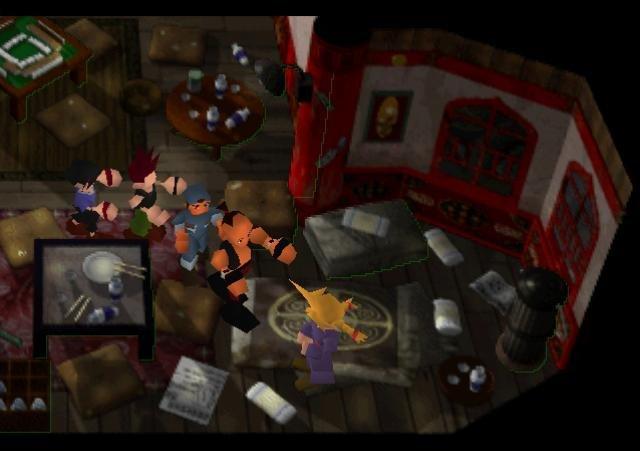 Final Fantasy 7 Zombie Apocalypse. Zombies... Zombies Everywhere.. It's a conga line! lol conga conga conga conga conGAA! no tags