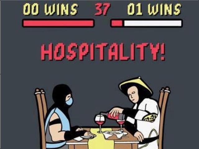 Finish Him!!!!!. . WINS , WINS. I'm under the table )))))))) Mortal Kombat