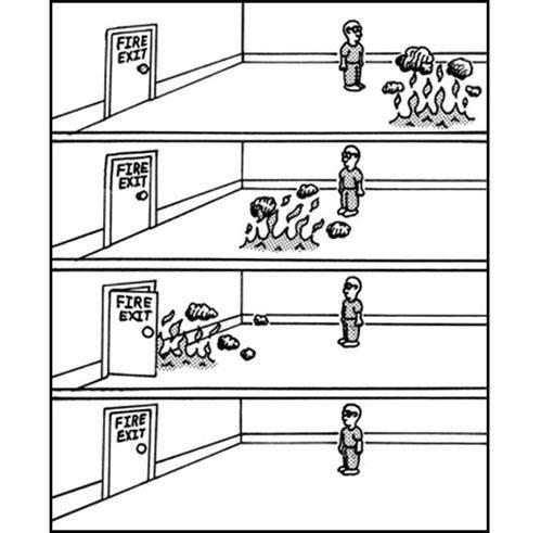 Fire Exit. . Fire Exit