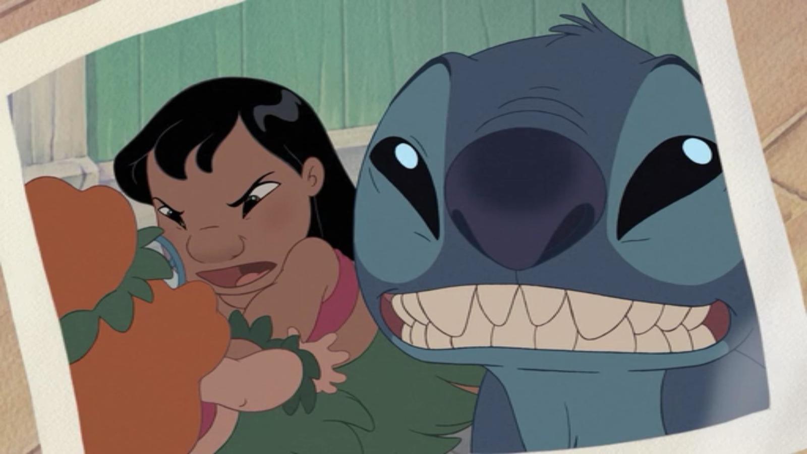 First selfie. I was watching Lilo and Stitch 2 and i saw this selfie. selfie Disney lilo and stitch lilo stitch catfight