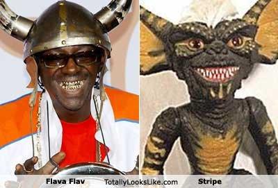 flava flav. totally looks like stripe.. GREMILIN!! :D totally