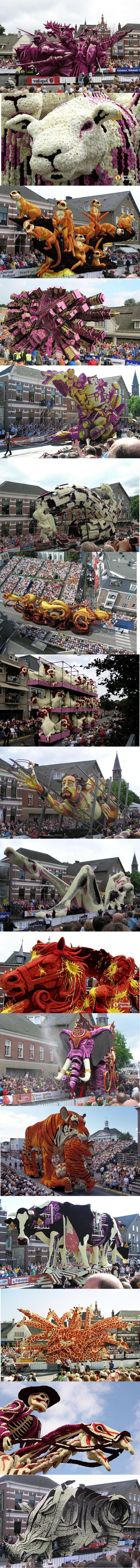 Flower Sculpture festival-Description. Huge Flower Sculpture Festival in the Netherlands.. Flower Sculpture festival-Description Huge Festival in the Netherlands