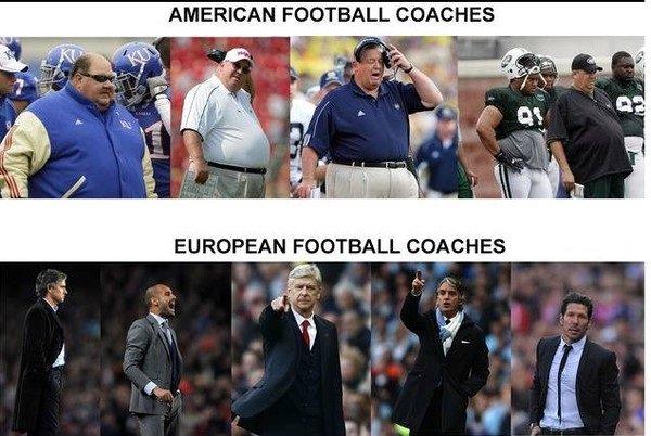 Football vs football. . AMERICAN FOOTBALL COACHES EU RAPEIN Football vs football AMERICAN FOOTBALL COACHES EU RAPEIN