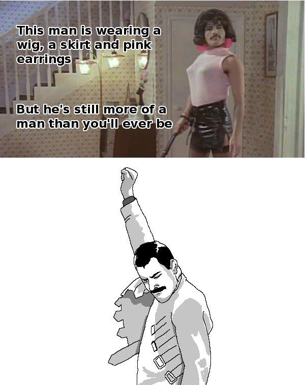 Freddie Mercury. . ca. i' iia' airity Freddie Mercury ca i' iia' airity