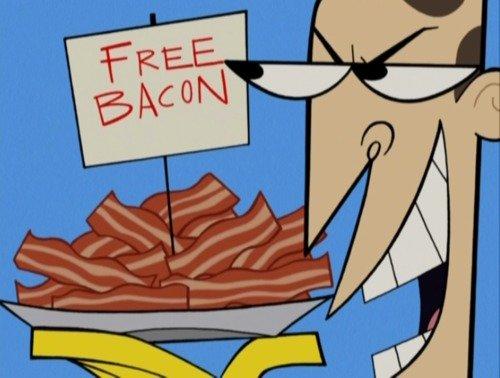 Free Bacon. No one can deny Bacon.. Jews... Bacon
