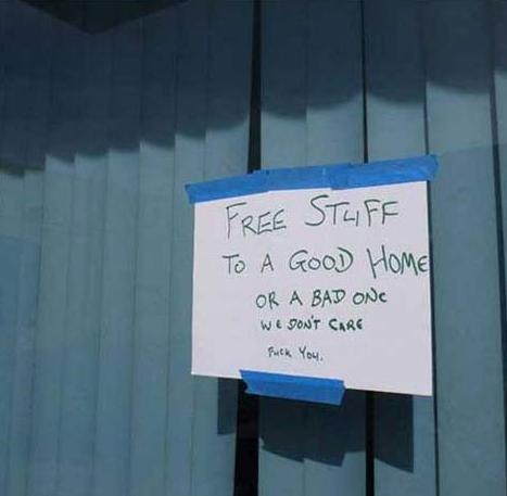 Free stuff. Yes. STEVIE? T: A HUME MBI, free stuff gary oak