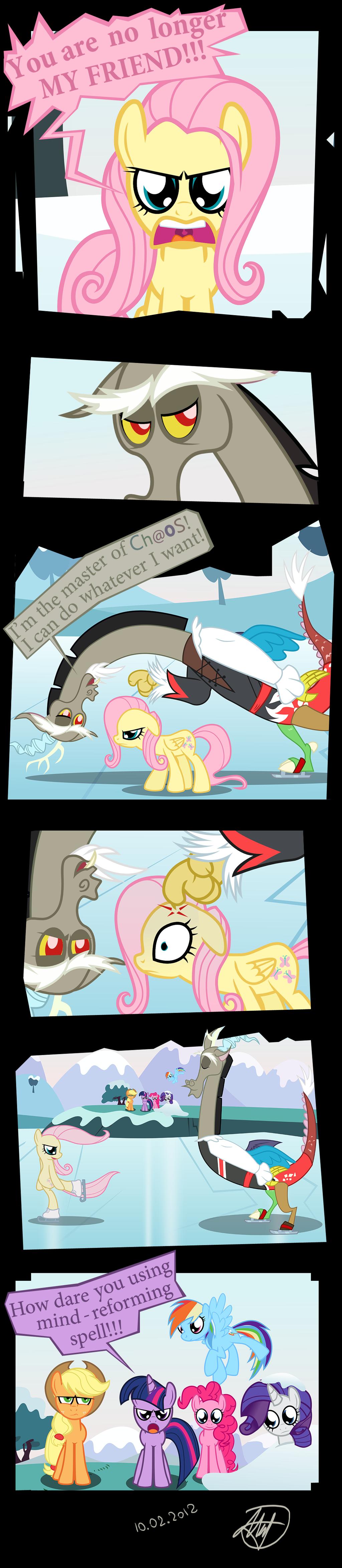 Friendship is Magic. mafon.deviantart.com/art/Friendship-i..... I did not know of any rules. ponies comic
