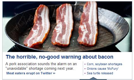 FUCK FUCK FUCK. NONONONNONONONONONONONONONNO. The horrible, forgood warning about bacon A pork association sounds the alarm on an . Corn, soybean shortages unav no more Bacon fuck