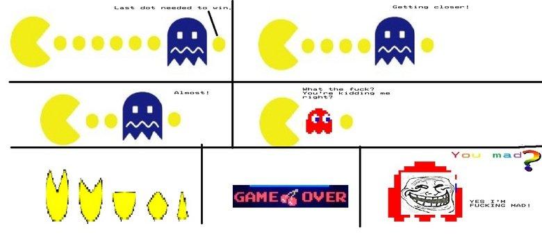 Fucking Pacman. . Fucking Pacman