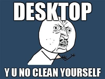Fucking desktop. . desktop shit