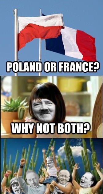 Fun for everyone. Hitler had fun. 1 tait FRANCE? BA. in att Fun for everyone Hitler had fun 1 tait FRANCE? BA in att