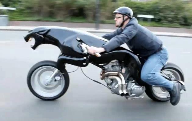 funny bike riding. funny bike riding.. a Black Panther at 88mp/h funny bike rash