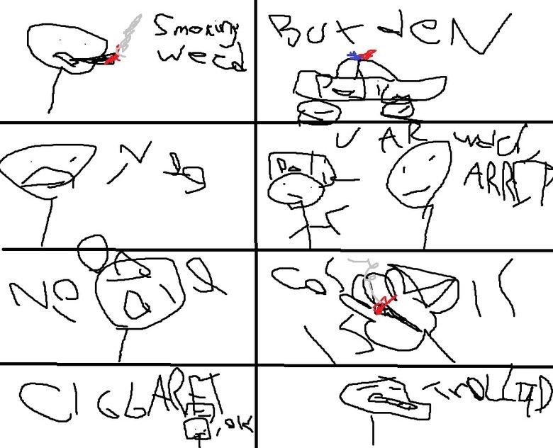 funy comic. i made tus in ptoshop 100% OC like for tumb! tanks.. had laff m8 lel pawned mas h