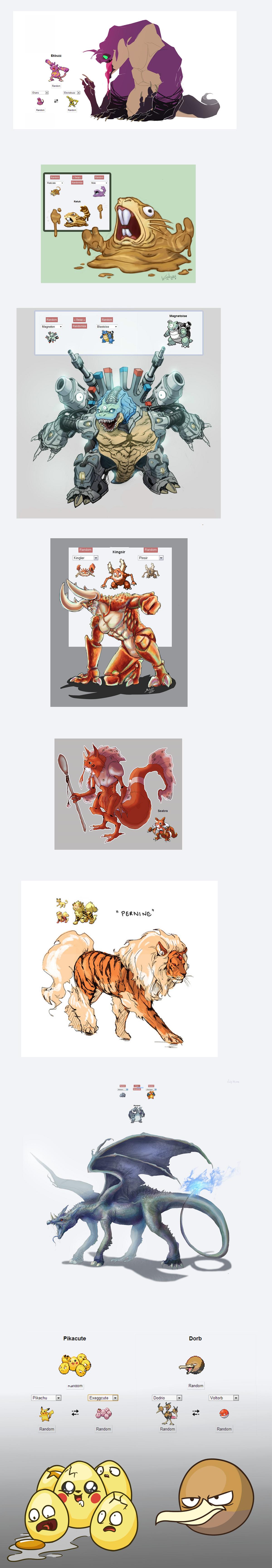 fusion 2. .. Does anyone else think they should make a Pokemon Fusion Series next? HERESY mutation Fusion Gay rights nasty