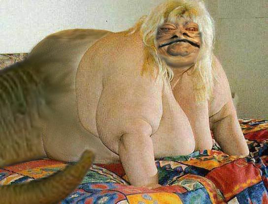 Jabba the Slutt. Get in that pizza puss.. flagged star wars Misa chomba wook Jabba hutt Villain slut slutt Pizza puss