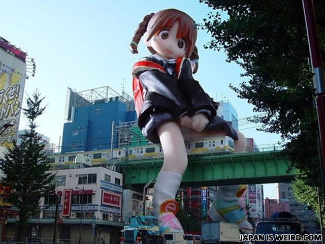 japan is weird. japan is weird.. I want to move there O.O ... captcha: wally.... I FOUND HIM!! :D Japan weird Train