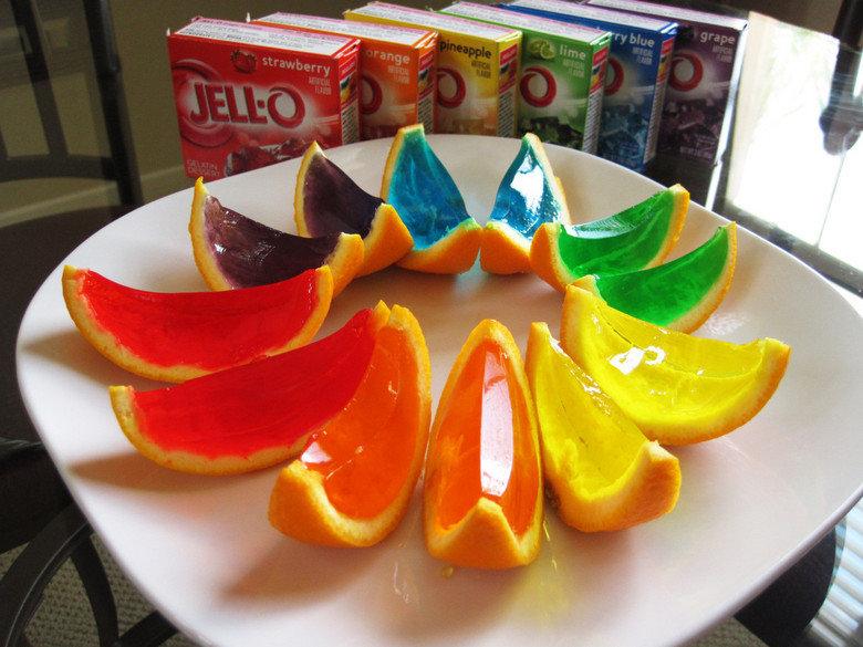 Jello oranages. ...how.. O.O Jello oranages how O