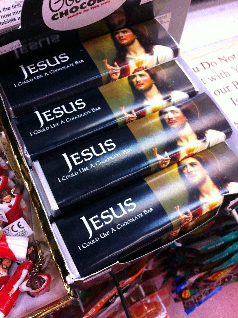Jesus. .. hmmmmmmm... sacrilicous... Jesus hmmmmmmm sacrilicous