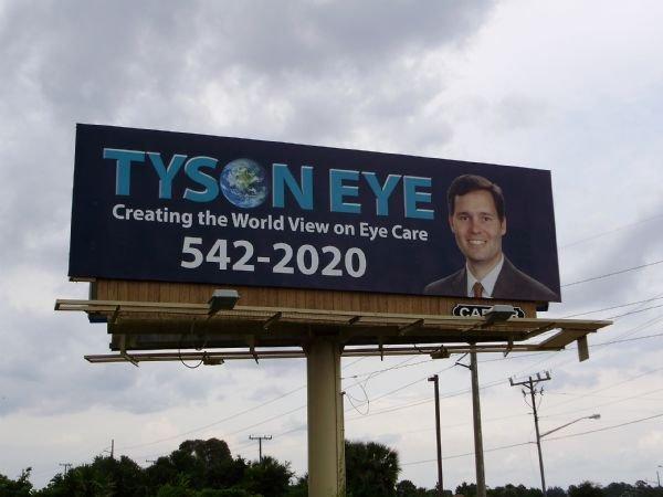Jim Carrey is a eye doctor. Local billboard, apparently Jim carrey is a eye doctor... Ft.Myers florida. Jim Carrey