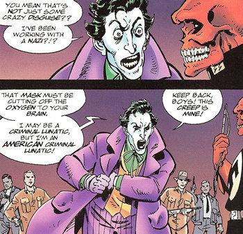 Joker is no Nazi. . WET BE. it all makes sense now. The Joker is PRESIDENT ANDREW JACKSON! Joker is no Nazi WET BE it all makes sense now The PRESIDENT ANDREW JACKSON!