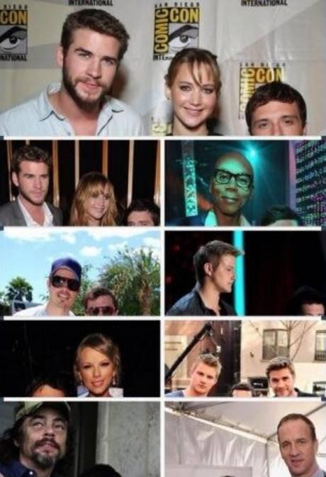 Josh Hutcherson next to other celebs. . Josh Hutcherson next to other celebs