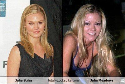 Julia Stiles Looks Like Julie Meadows. .. So what? Julia Stiles Looks Like Julie Meadows So what?