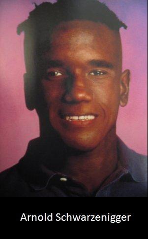 Just a ... Wait what???. Arnoold. Arnold Schwarzenegger. I'll be black arnold schwarzen nigger nigga black male