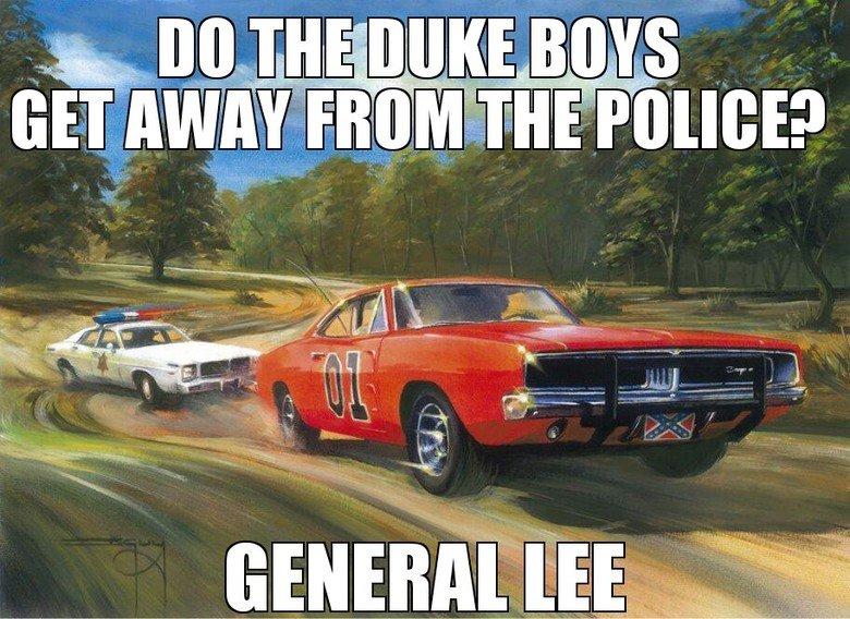 Just the good ol' boys. .. never meanin' no harm dukes hazzard general lee