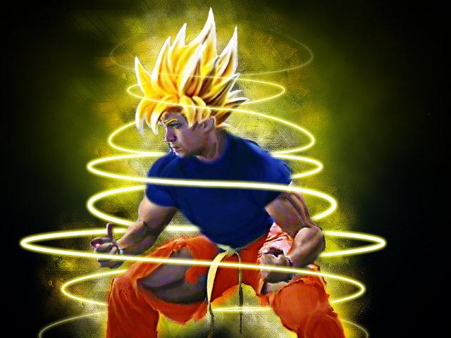 just Saiyan. boredom + photoshop = me super saiyan<br /> still a noob tho <br /> other stuff<br /> /funny_pictures/1101488/Microsoft+Pai... /& saiyan super ssj dbz Goku bored funny lol Photoshop