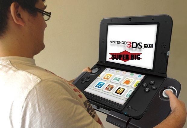N3DSXXXLSB. ..... This isn't even its final form. Nintendo gimmick
