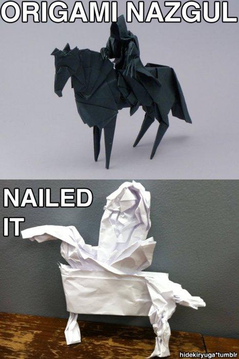 Nailed it. . Nailed it