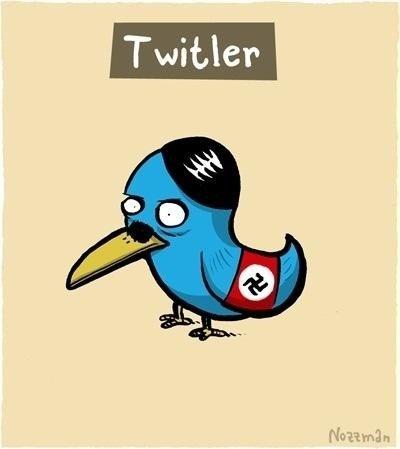 Nazi Social Media. Twiltler. Nazi Social Media Twiltler