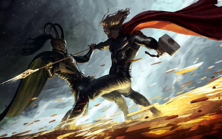 Neat. Anyone know who the artist is? Found um on google. thor Loki
